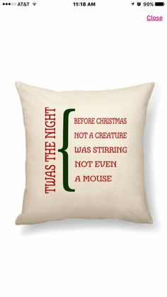 It's not too early to be thinking about personalized pillows for Christmas gifts.