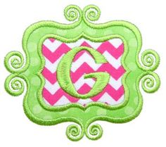 Machine Embroidery Design Applique Scrolly Frame Instant Download 4034 by GardenofDaisies on Etsy https://www.etsy.com/listing/178958517/machine-embroidery-design-applique