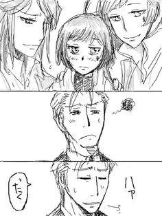 Khr, Aria, Yuni, Luce, Gamma