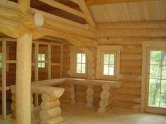 Houtstapelbouw chalet slatina houten huis bouwen top view