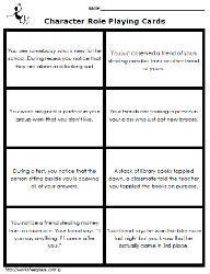 FREE social skills problem solving task cards. | Social Emotional ...