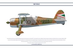 FIAT CR42 Hungary 1 by WS-Clave on deviantART