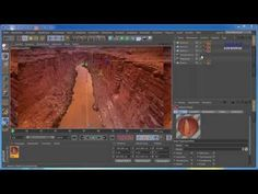 Cinema 4D Tutorial Kamera-Mapping - YouTube