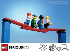 LEGO SERIOUS PLAY is an innovative, experiential process designed to enhance innovation and business performance.