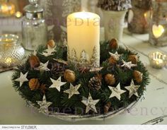 ... Advent, Decoupage, Christmas Wreaths, Table Decorations, Holiday Decor, Diy, Furniture, Home Decor, Scrappy Quilts