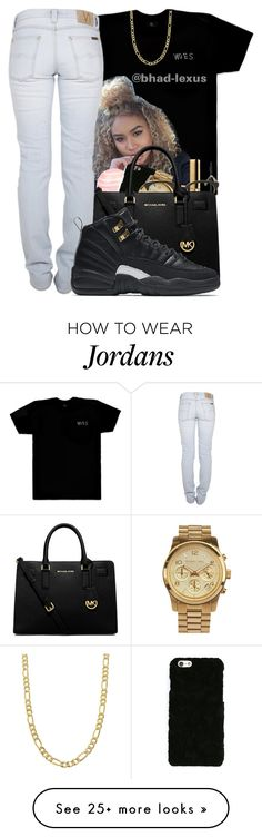 """""""Master 12s """" by bhad-lexus on Polyvore featuring October's Very Own, River Island, Dolce&Gabbana, MICHAEL Michael Kors, Sunday Somewhere, Nudie Jeans Co., NIKE and Fremada"""