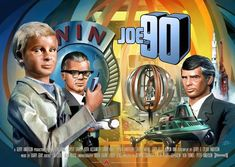 Joe 90 was the penultimate Supermarionation show from Gerry Anderson. Joe 90, 50th Anniversary, Classic, Model Kits, Poster, Nostalgia, Random, Derby