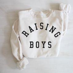 Momma Shirts, Raising Boys, Athletic Women, Fashion Games, Graphic Sweatshirt, Trending Outfits, Sweatshirts, Ford, Powder