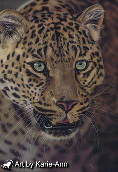 011b0edd06a1 leopard wildlife art #leopard #cat #painting Ref Tambako Big Cats Art, Cat