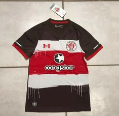 NWT UNDER ARMOUR FC St. Pauli Jersey Youth Medium  | eBay Fc St Pauli, Under Armour, Youth, Medium, Mens Tops, Ebay, Teenagers