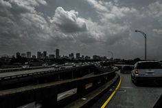 New Orleans Skyline from the Claiborne Avenue  Overpass, August 16, 2014