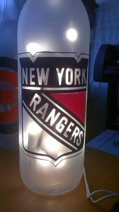 NHL New York Rangers  Lighted Bottle