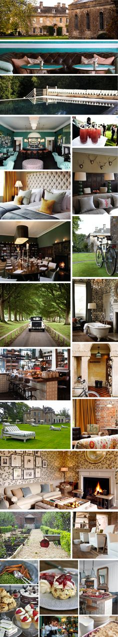 Babington House, Somerset  - As a guest in a cool manor
