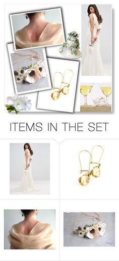 """""""Etsy Collage - Wedding"""" by rosa-shawls ❤ liked on Polyvore featuring art and vintage"""