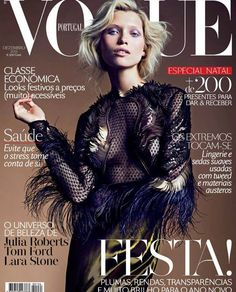 Vogue Portugal December 2013 | Hana Jirickova