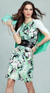 mint and black...love the belt