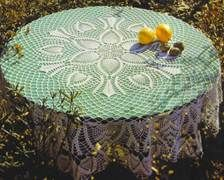 Tablecloth Spring - Crochet Pattern