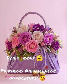 Foto Text, Floral Wreath, Tote Bag, Polish Sayings, Pictures, Floral Crown, Totes, Flower Crowns, Tote Bags