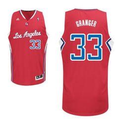 Los Angeles Clippers #33 Danny Granger Revolution 30 Swingman Red Jersey