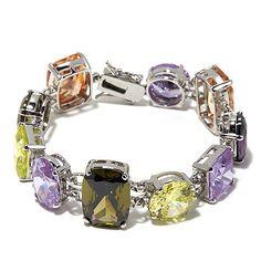 Hutton Wilkinson Multicolor Stone Bracelet