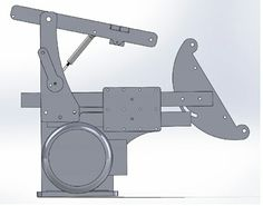 Here are some captures out of solid works. This is a modified eerf grinder. When I post the cad files, they include everything here except the tool. Metal Working Tools, Metal Tools, 2x72 Belt Grinder Plans, Diy Belt Sander, Metal Fabrication Tools, Knife Grinder, Blacksmith Forge, Electronic Schematics, Welding Equipment