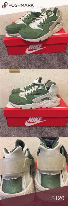 timeless design 83bd3 5f1e5 New Nike Air Huarache Run Premium, sz 12, Green This listing is for a