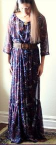 Oasis maxi dress - I really love these dresse, but I may be too short to wear them properly...still very nice tutorial!