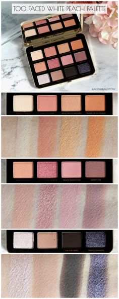 simple makeup – Hair and beauty tips, tricks and tutorials Too Faced Eyeshadow, Too Faced Lipstick, Peach Eyeshadow, Too Faced Concealer, Too Faced Makeup, Eyeshadow Looks, Contour Makeup, Eye Makeup, Hair Makeup