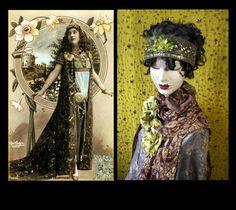 1920s Headpiece,1920s Headband,Art Deco Headband,Bridal Headpiece,Tiara,Flapper Headband,1920s Dress Headband by Jevda on Etsy