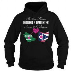 The Love Between Mother and Daughter - Saudi Arabia Ohio - #mens zip up hoodies #t shirt design website. SIMILAR ITEMS => https://www.sunfrog.com/States/The-Love-Between-Mother-and-Daughter--Saudi-Arabia-Ohio-Black-Hoodie.html?id=60505