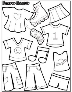 Forever Friends 1 coloring page
