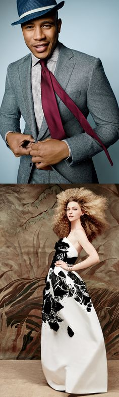 The Fall 2015 #SaksMagalog has arrived and its our biggest book to date! The women's cover features a Peter Copping debut look for Oscar de la Renta and the men's cover features Trai Byers of Fox's Empire donning Saks Fifth Avenue Collection.