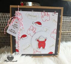 Magical Scrapworld: Happy Christmas to all, cards, christmas, merry little christmas, santa's suit, Stampin' Up!, catalogue 2017-2018