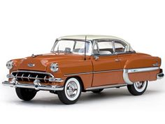 1954 Chevrolet Bel Air Hard Top Pueble Tan / India Ivory Diecast Car Model by Sunstar 1954 Chevy Bel Air, Chevrolet Bel Air, Jada Toys, Model Cars Kits, Old Classic Cars, Diecast Model Cars, Scale Models, Vehicles, Ivory