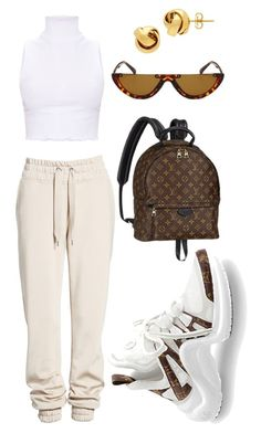 """""""Untitled #24"""" by tynab01 ❤ liked on Polyvore featuring Ivy Park, Louis Vuitton and Lord & Taylor"""