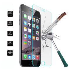 f695810cf06 Explosion Proof Tempered Glass For iPhone 6 7 Plus 6s 6splus 4 4S 5 5C 5S  SE 7 Screen Protector Toughened Film Pelicula de vidro-in Screen Protectors  from ...