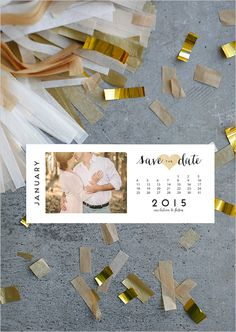 Free Printable: Simple and sweet Save the Date! Diy Save The Dates, Wedding Save The Dates, Save The Date Magnets, Save The Date Cards, Save The Date Ideas Diy, Free Wedding, Diy Wedding, Wedding Ideas, Save The Date Invitations