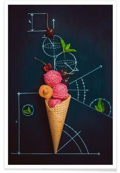 Summer Homework - Dina Belenko als Premium Poster von 1x | JUNIQE