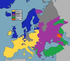 Religion in Europe. Note Buddhist region by the Caspian Sea.