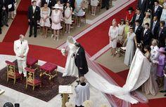 Boda real del principe Alberto de Mónaco y Charlene Wittstock. 02.07.2011