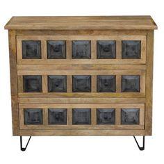 Stylisches Sideboard aus Mangoholz - ein Möbelstück mit Charakter Sideboard, Buffet, Cabinet, Storage, Euro, Design, Furniture, Home Decor, Shelf
