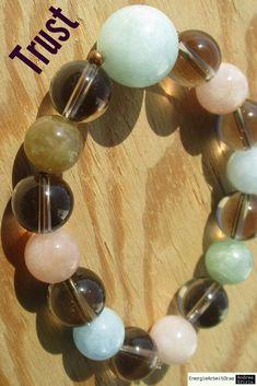 * RAUCHQUARZ buntes AQUAMARIN ARMBAND * Smoky Quartz Aquamarine Bracelet * Aquamarine Bracelet, Smoky Quartz, Pearl Earrings, Healing, Gemstones, Pearls, Ebay, Bracelets, Jewelry