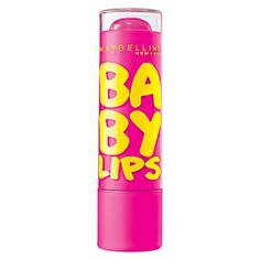Maybelline New York Baby Lips Moisturizing Lip Balm, Pink Punch - Baby products Spf Lip Balm, Lip Moisturizer, Lip Balms, Facial Cleanser, Chapped Lips, Dry Lips, The Body Shop, Maybelline Baby Lips, Lip Gloss