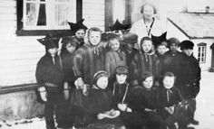 If you don´t know much about the Sami as yet, you may want to start here. Sami pupils dressed in traditional costumes outside their school in Kolvik, Finnmark, Norway in 1929 The text below is take…