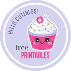 Super cute FREE printables for personal and school. To-do lists, notes, calendars, etc....