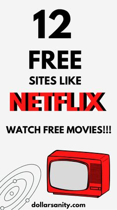 Best free legal sites like Netflix to watch free movies. Movie Hacks, Netflix Hacks, Netflix Free, Free Netflix Account, Netflix Movies, Tv Hacks, Netflix Gift, Free Tv And Movies, Life Skills