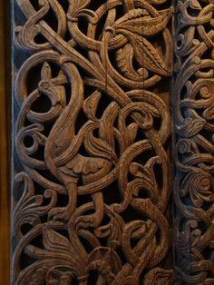 Резьба по дереву на ранних скандинавских церквях