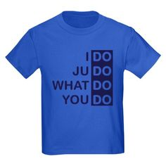 I Do Judo... Kids Dark T-Shirt
