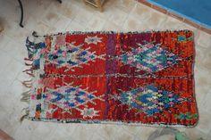 Authentic Moroccan carpet 110x195 cm ref IH08-02