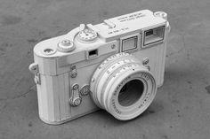 Cardboard Leica Replica Symbolizes Our Unhealthy Relationship with Technology